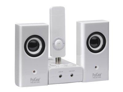 Sistema de sonido para el iPod Shuffle