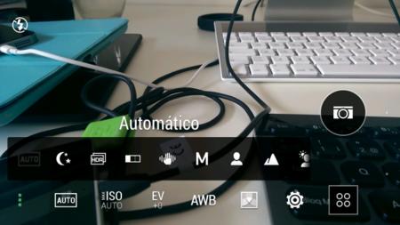 Interfaz HTC One M8