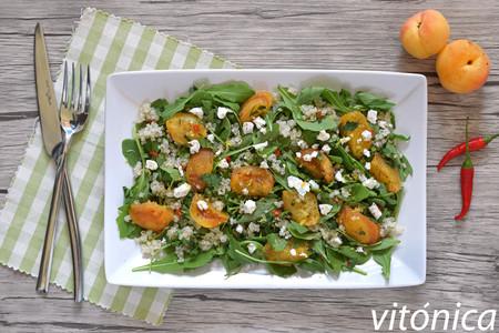 Ensalada de quinoa dieta disociada