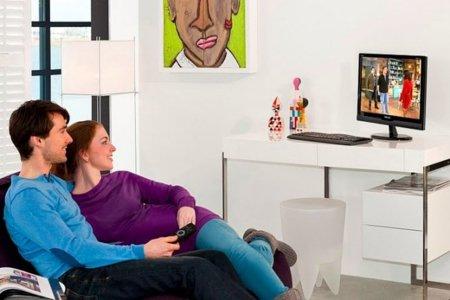 Philips 221TE2L, monitor y televisor para pequeñas estancias