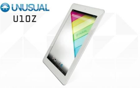 Unusual U10Z, tablet Android quad-core con pantalla Retina Display y formato de iPad