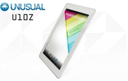 Unusual U10Z, tablet Android quad-core con pantalla Retina Display y formato de iPad