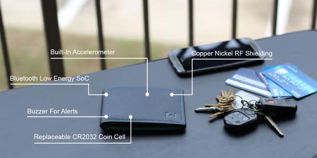 Walli es una cartera inteligente que complementa a tu smartphone y te avisa para que no lo pierdas