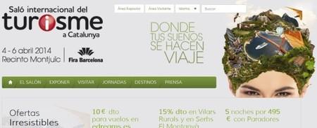 Salón Internacional de Turismo en Catalunya, degustaciones 1 euro y menús en hoteles con rebajas