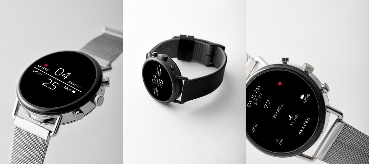 Skagen Falster 2: un elegante smartwatch con Wear OS equipado con NFC, GPS y sensor de ritmo cardíaco