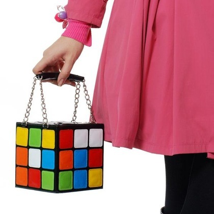 Bolso de cubo de Rubik