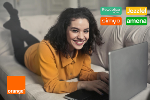 Cuádruple oferta low cost de Orange: estas son las diferencias entre Amena, Jazztel, Simyo y República Móvil