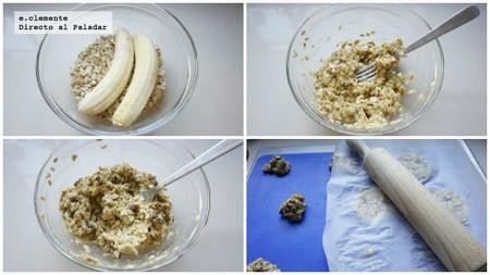 Cookies de dos ingredientes