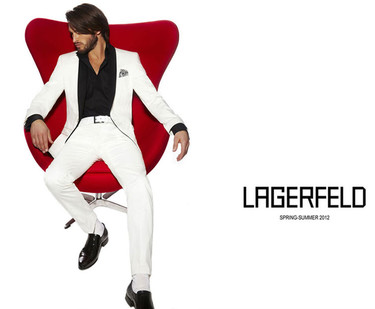 Lagerfeld Primavera-Verano 2012: Karl Lagerfeld tiene tiempo para todo