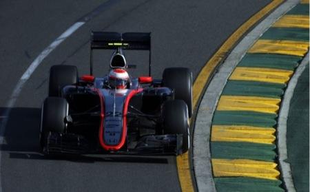 Jenson Button Gp Australia F1 2015