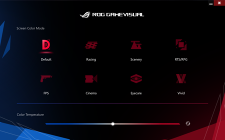 Rog Game Visual