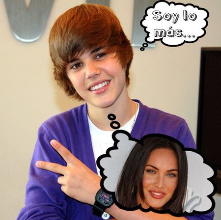 A Justin Bieber no le importaría tener a Megan Fox en su próximo videoclip, ¡no sabe nada el crío!