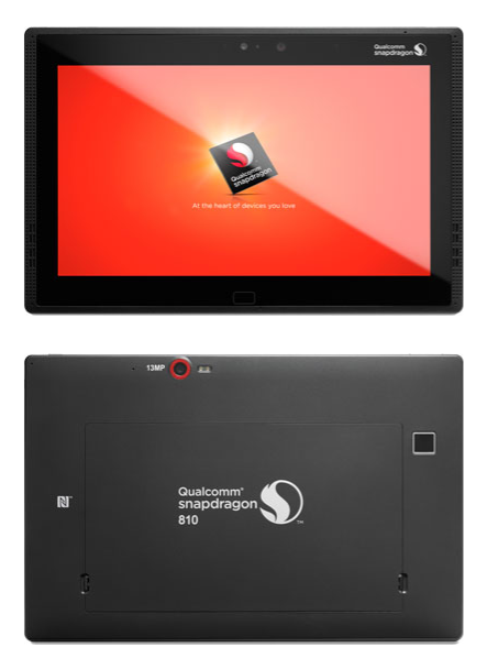 Snapdragon 810 Tablet