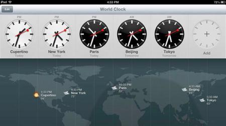 Reloj para iOS 6