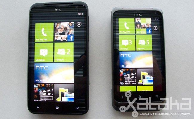 HTC Titan y HTC Radar