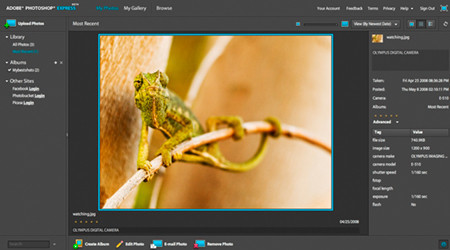 Photoshop Express incorpora novedades