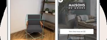 Maisons du Monde lanza su nueva aplicación de realidad aumentada '3D at Home'