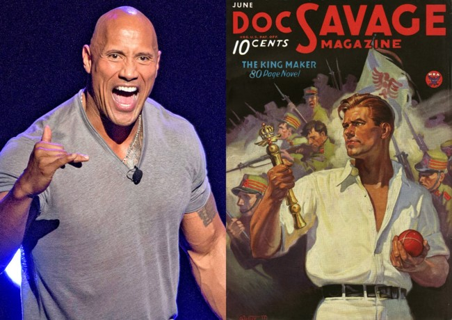 Dwayne Johnson será Doc Savage