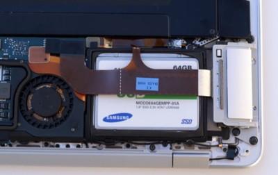 Cómo cambiar el disco duro por uno SSD en el MacBook Air