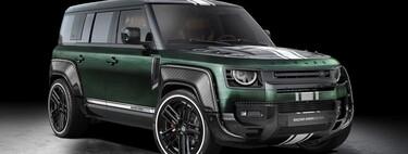 Land Rover Defender Racing Green by Carlex, con un estilo de tuning que amarás u odiarás