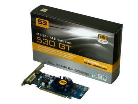 S3 Chrome 500, la nueva generación de gráficas de S3