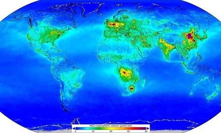 La contaminación global de dióxido de carbono, asociada al tráfico, es peor en estos puntos del mundo