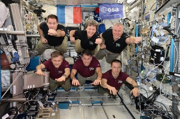 99 horas de ciencia solo en una semana en la ISS