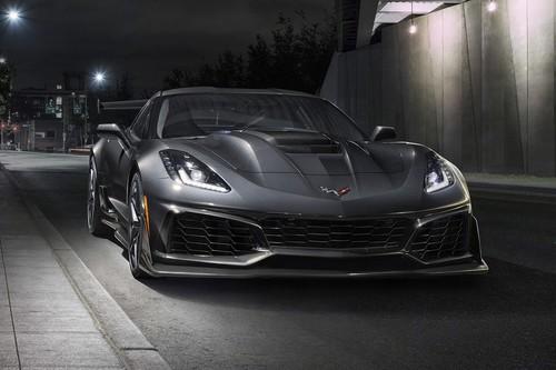 El Chevrolet Corvette ZR1 es 755 hp de potencia pura y dura