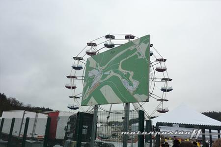Entrada paddock Spa-Francorchamps 6 horas 2012