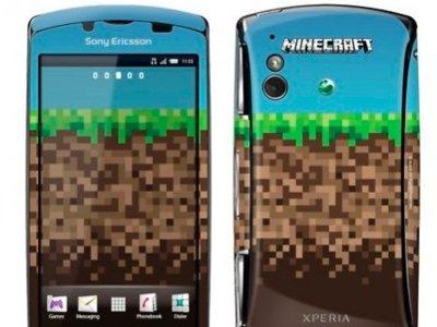 Edición limitada del Sony Ericsson Xperia Play con Minecraft