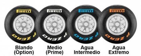 GP de Alemania F1 2011: compuestos elegidos por Pirelli