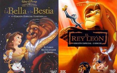 Disney va a estrenar las versiones en 3D de 'El rey león' y 'La bella y la bestia'