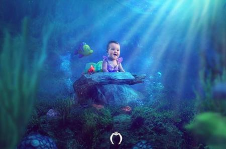 Originales fotos de bebés convertidos en personajes de película