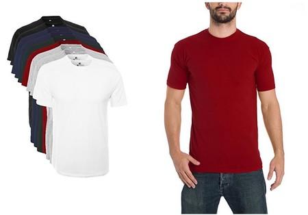 ¿Quieres renovar camisetas sin gastar mucho dinero? el pack de 10 camisetas Lower East cuesta sólo 27,49 euros en Amazon