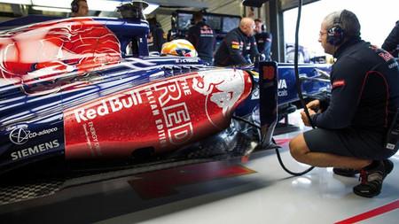 Toro Rosso estrenará decoración para el Gran Premio de Italia