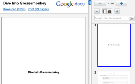 Visualiza PDFs y PPTs directamente en el navegador