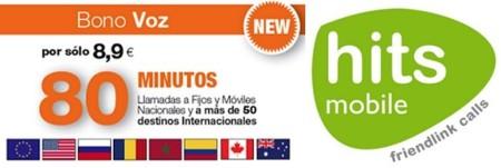 Hits Mobile también estrena un bono prepago con 80 minutos nacionales e internacionales