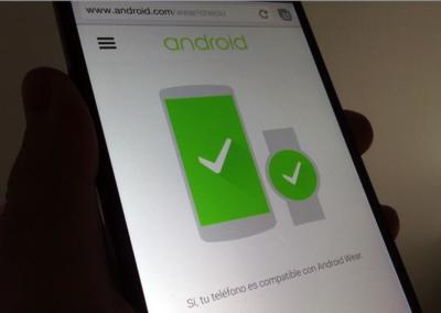 Solo el 25% de los teléfonos Android se llevarán bien con los relojes de Google