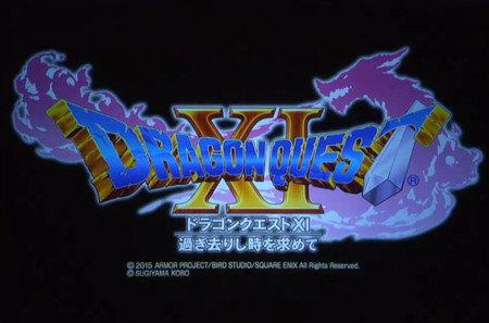 Square Enix revela oficialmente Dragon Quest XI