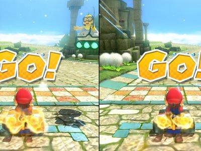 Comprueba tú mismo las diferencias técnicas entre las versiones de Mario Kart 8 para Switch y Wii U