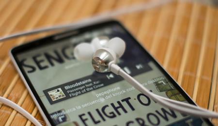 LG G3 con auriculares