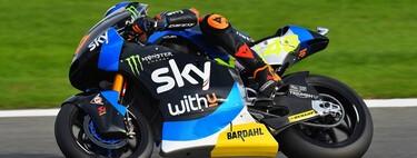 Luca Marini y Sam Lowes le demuestran a Enea Bastianini que tendrá que pelear por el título de Moto2