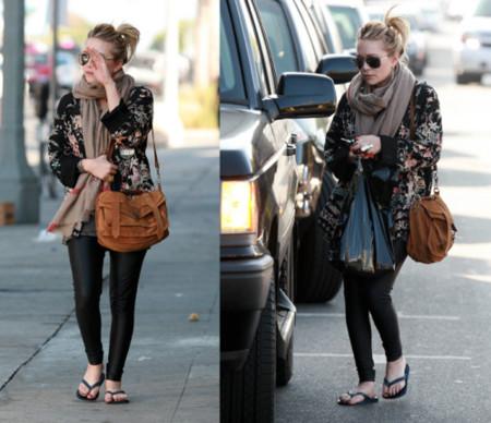 El look recargado de Mary-Kate Olsen