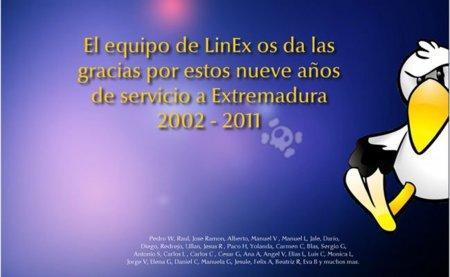 LinEx, despedida y cierre