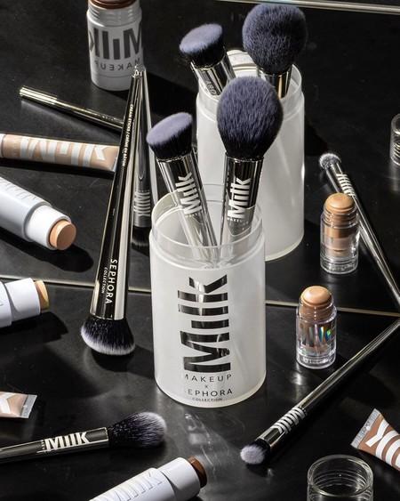 Los mejores kits de brochas de maquillaje de Sephora Collection de esta Navidad (y nos encanta el de Milk, su gran novedad)