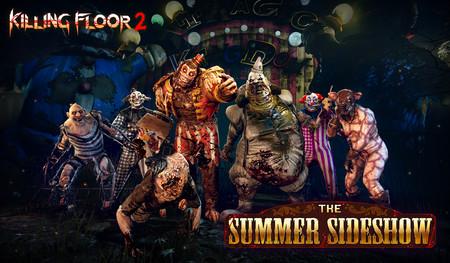 El tenebroso circo de Killing Floor 2 abre sus puertas en PS4 con un evento especial