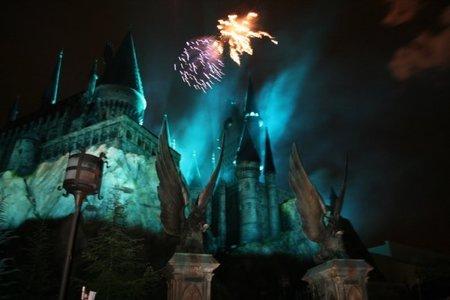 La inauguración del parque de atracciones de Harry Potter.