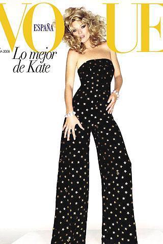 Foto de 20 aniversario de Vogue España: Kate Moss en portada (2/4)