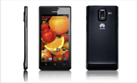 Filtradas las especificaciones del Huawei Ascend P2