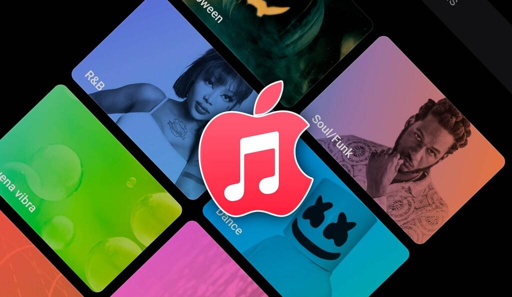 Apple actualiza su apps Music para Android™ con un reciente boceto y mejorías en la interfaz